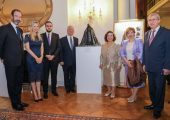 "ROYAL COUPLE OPENS EXHIBITION ""SCULPTING THROUGH TIME: EUROPEAN SCULPTURE FROM THE ROYAL PALACE"""