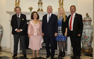 ROYAL COUPLE HOST DINNER IN HONOUR OF 56th CANCER CONFERENCE WEEK