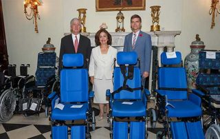 TRH CROWN PRINCE ALEXANDER AND CROWN PRINCESS KATHERINE DELIVER 125 WHEELCHAIRS FOR 10 FACILITIES ACROSS SERBIA