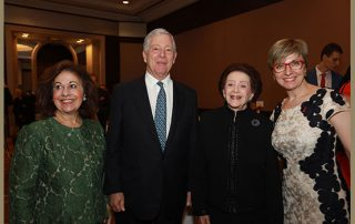 "ROYAL COUPLE ATTEND CHARITY DINNER IN HONOUR OF  2nd ""DR NANETTE KASS WENGER"" CONFERENCE"
