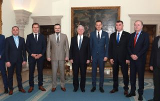 HRH CROWN PRINCE ALEXANDER RECEIVES MOVEMENT FOR KINGDOM OF SERBIA RESTORATION DELEGATION