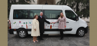 THEIR ROYAL HIGHNESSES DELIVERED SIGNIFICANT DONATION TO HOME FOR CHILDREN AND PERSONS WITH DISABILITIES