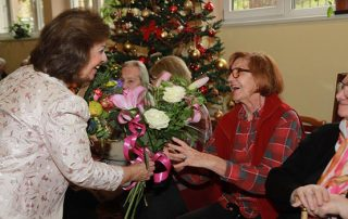 HRH PRINCESS KATHERINE VISITED HOME FOR THE ELDERLY PEOPLE VOZDOVAC