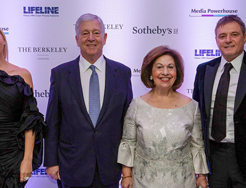 CROWN PRINCE ALEXANDER AND CROWN PRINCESS KATHERINE HOSTED LIFELINE GALA DINNER IN LONDON IN AID OF CHILDREN'S HOSPITALS IN SERBIA