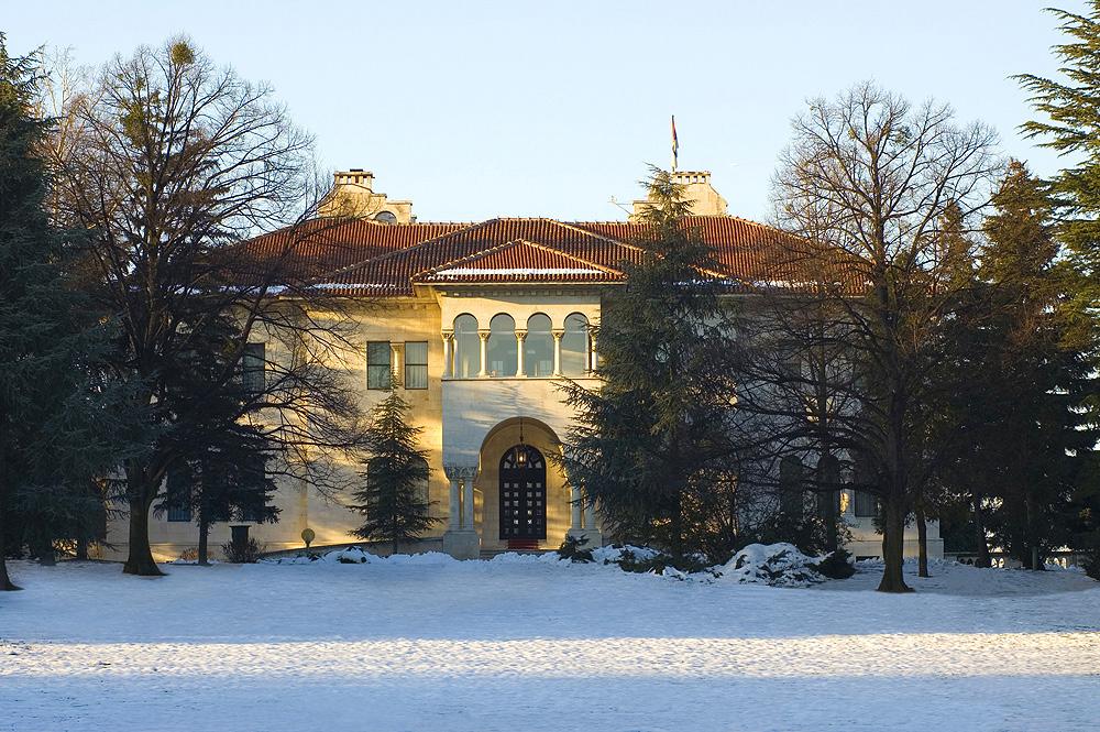 Winter at the Royal Palace