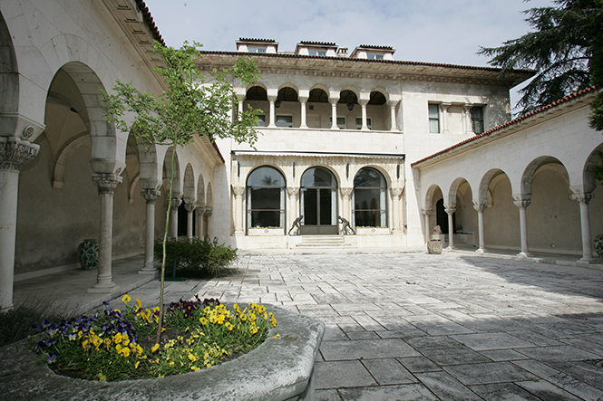 The Patio of the Royal Palace