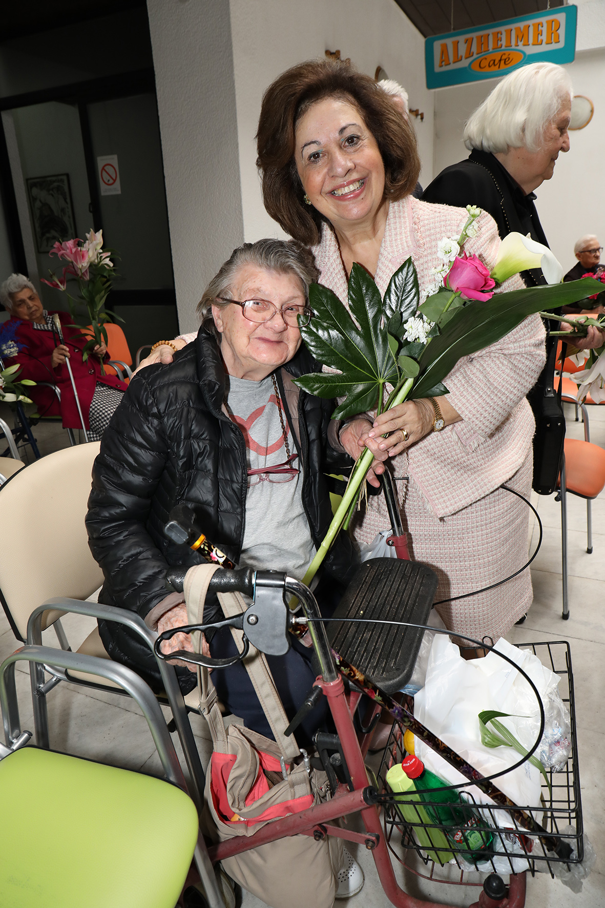 HRH Crown Princess Katherine delivered presents to the users of the Gerontology Center in Belgrade