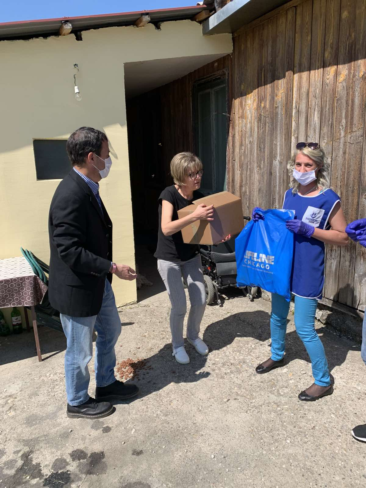 Humanitarian aid reaches the most vulnerable citizens