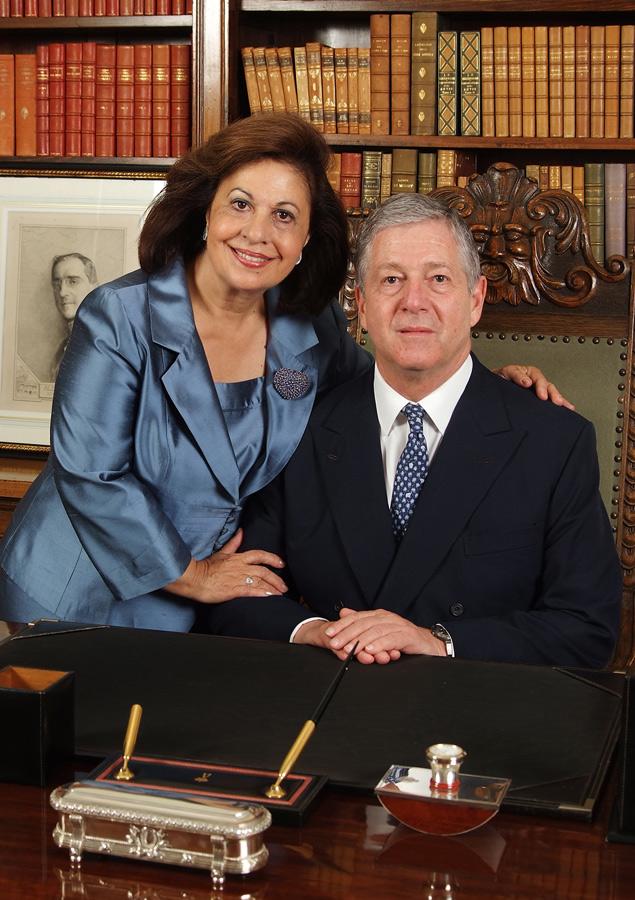 HRH Crown Prince Alexander and HRH Crown Princess Katherine