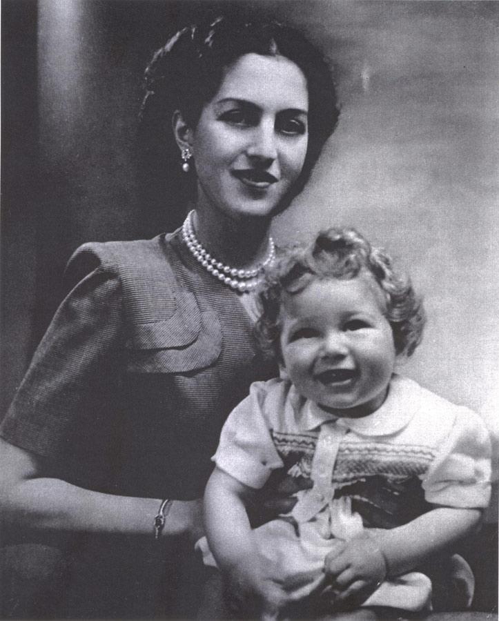 HM Queen Alexandra and HRH Crown Prince Alexander