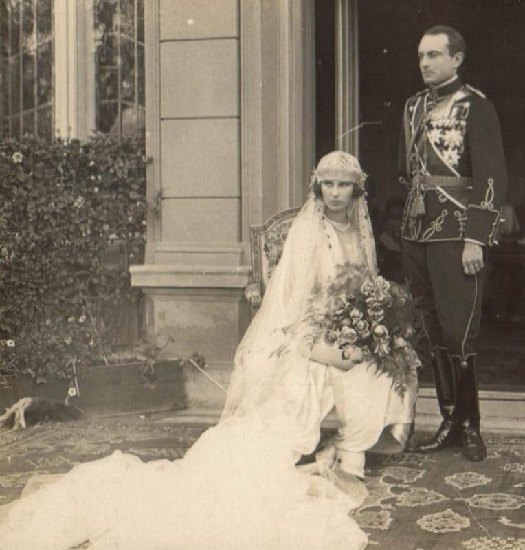 Венчање Њ.К.В. Кнеза Павла и кнегиње Олге у Београду 1923. године