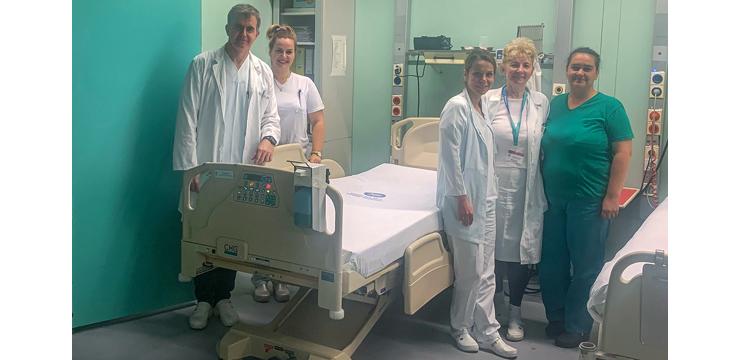 PRINCESS KATHERINE FOUNDATION DONATES ELECTRIC BEDS VALUE OVER 51,000 EUROS FOR ZRENJANIN HOSPITAL