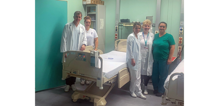 CROWN PRINCESS KATHERINE FOUNDATION DONATED AND DELIVERED MEDICAL AID WORTH €500,000 TO 17 HOSPITALS ACROSS SERBIA
