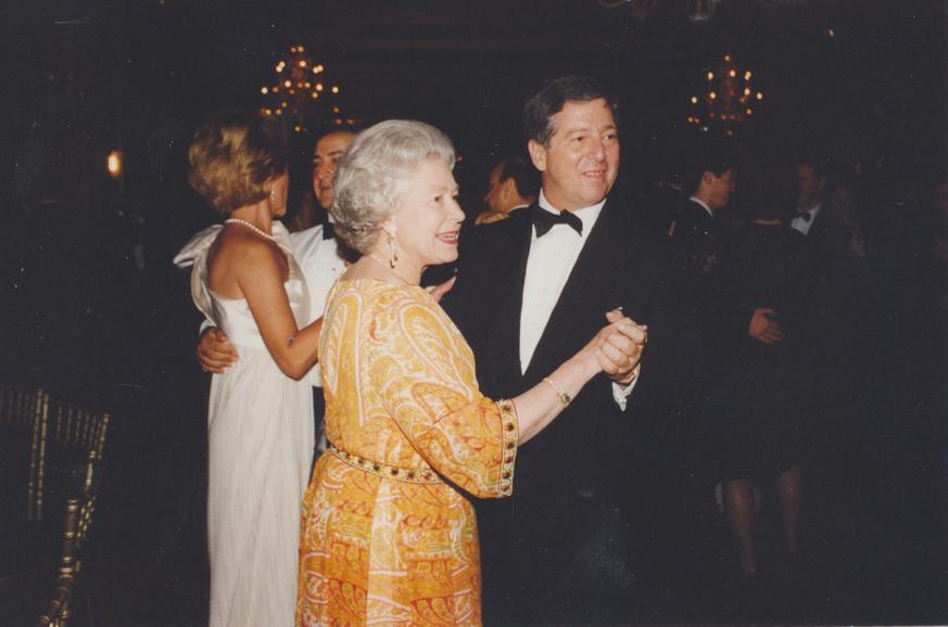 HM Queen Elizabeth and HRH Crown Prince Alexander