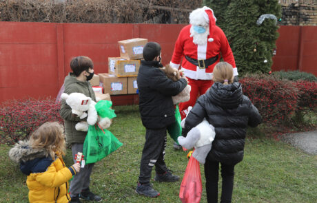 HRH CROWN PRINCESS KATHERINE'S FOUNDATION CONTINUES DISTRIBUTION OF CHRISTMAS PRESENTS FOR CHILDREN