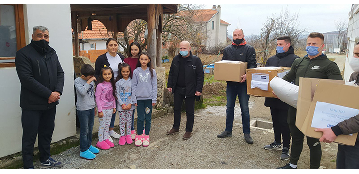 Donation for Serbian families in Kosovo and Metohija