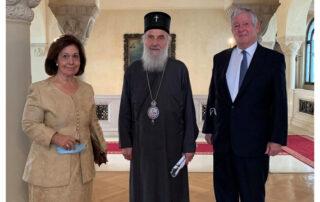 Royal Family and the Late Patriarch Irinej