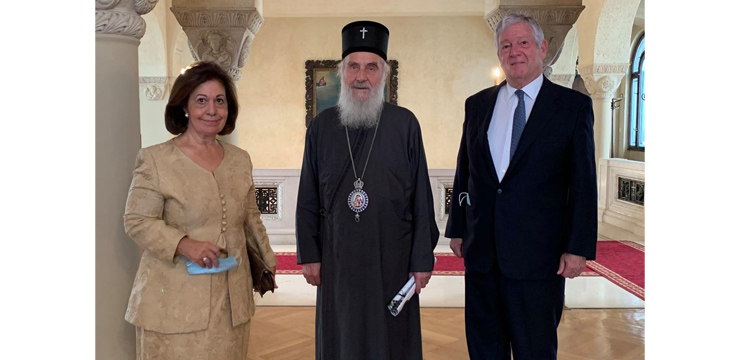 Royal Family and the Late Patriarch Irinej