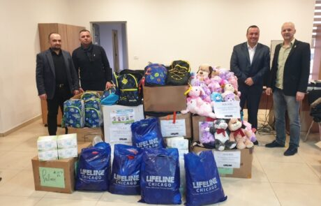 Members of Kingdom of Serbia Association delivers aid to Serbian families in Kosovo and Metohija