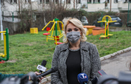 Ministarka za rad, zapošljavanje, boračka i socijalna pitanja prof. dr Darija Kisić Tepavčević