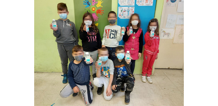 KEEP OUR CHILDREN HEALTHY: CROWN PRINCESS KATHERINE FOUNDATION AND L'OREAL COMPANY CONTINUE TO FIGHT TOGETHER AGAINST COVID-19 VIRUS