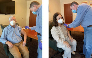 CROWN PRINCE ALEXANDER AND CROWN PRINCESS KATHERINE RECEIVED SECOND COVID-19 VACCINE
