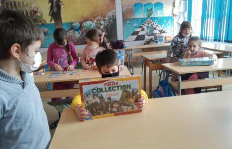 Donation to the Elementary school Vuk Karadzic