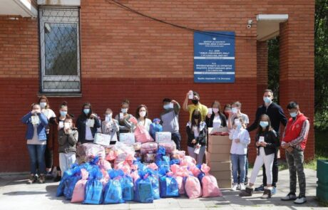 Princess Katherine distributed Easter gifts to children ih children's home
