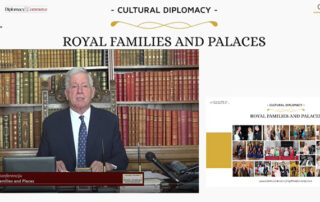 """Crown Prince Alexander at the conference """"Cultural Diplomacy: Royal Families and Palaces"""""""