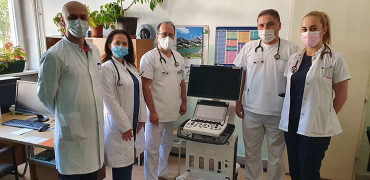 DONATION OF ULTRASOUND FOR HOSPITAL IN PRIJEPOLJE