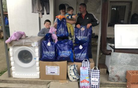 Donation for family in Vitina