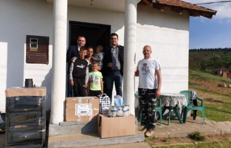 Donation for family in Ranilug