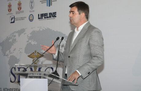 Државни секретар Министарства здравља др Мирсад Ђерлек