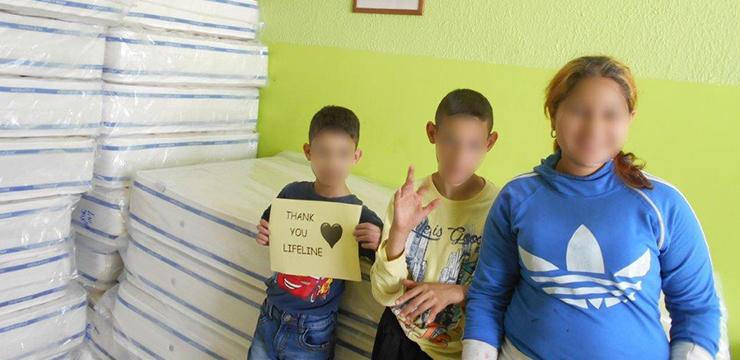 Donation to Children's home Spomenak