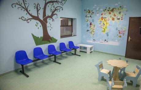 Реконструисана ординација дечје и превентивне стоматологије